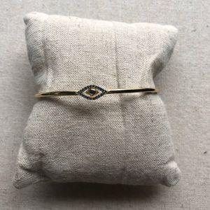 Pavé Protective Eye Cuff Bracelet